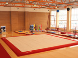 Gymnastikhallen Ausstattung für Gymnastik und Turnen