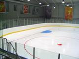 Ausrüstung von Eisarenen für Eislaufen und mit Eislaufbahn