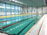 """Schwimmbad """"Aktscharlak"""" Stadt Kazan, Russland"""