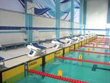 """Schwimmbad """"Burewestnik"""" Stadt Kazan, Russland"""