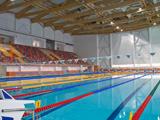 """Wassersportzentrum """"Nevskaya Volna"""" Stadt Sankt-Petersburg, Russland"""