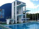 Freibad im Ausbildungszentrum der Olympischen Reservemannschaft