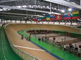 Austattung von Radrennbahnen und Radstadien für Radrennen