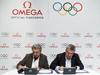 Omega erweitert Partnerschaft mit FINA und IOC