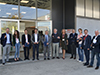Österreichischen Delegation zum Baukongress in Italien