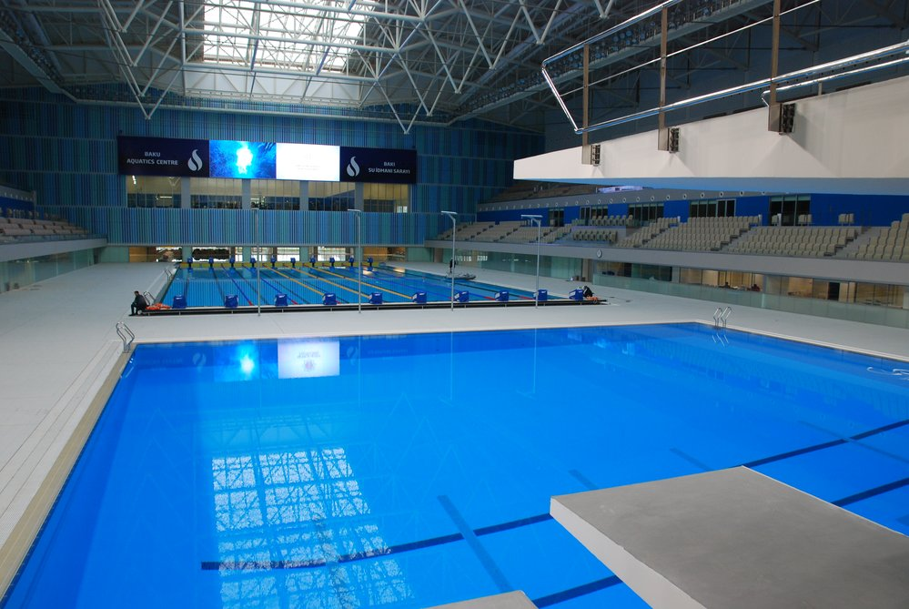 Schwimmbäder und Schwimmbad Ausstattung Schwimmhallen