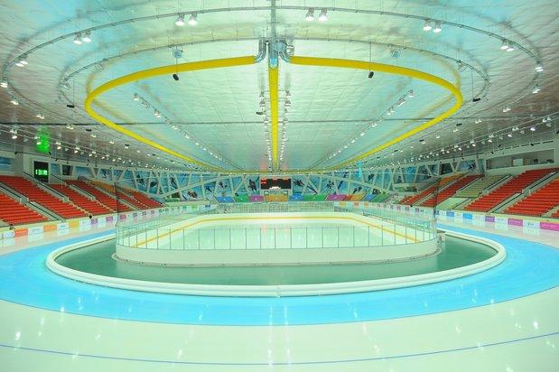 "Eispalast ""Alau"" Stadt Astana, Kasachstan"