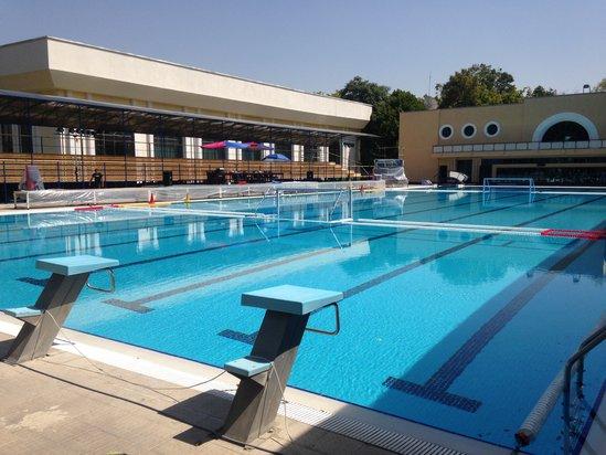 """Sport- und Fitnesskomplex """"Yoshlik"""" Stadt Taschkent, Usbekistan"""