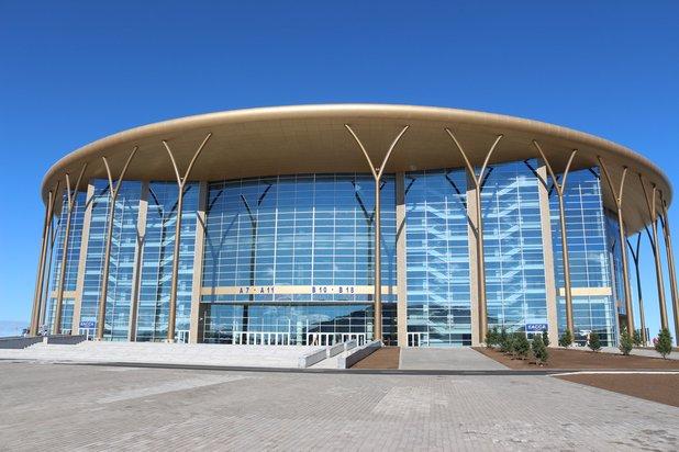 """Eispalast """"Barys Arena"""" Stadt Astana, Kasachstan"""
