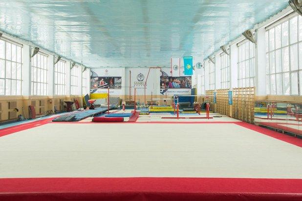 Akademie für Gymnastik Namens Nelly Kim Stadt Almaty, Kasachstan