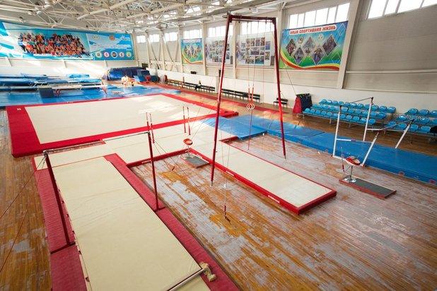 Sportschule der Olympischen Reserve Nr. 9 Stadt Almaty, Kasachstan