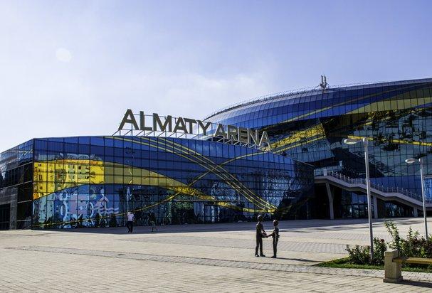 "Eispalast ""Almaty Arena"" Stadt Almaty, Kasachstan"