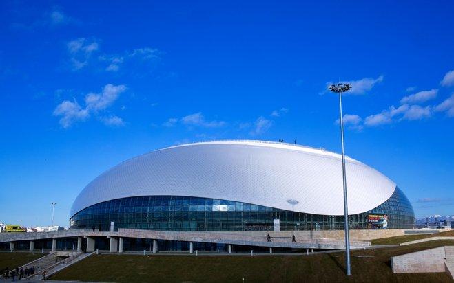 """Sportpalast """"Bolschoi"""" Stadt Sotschi, Russland"""
