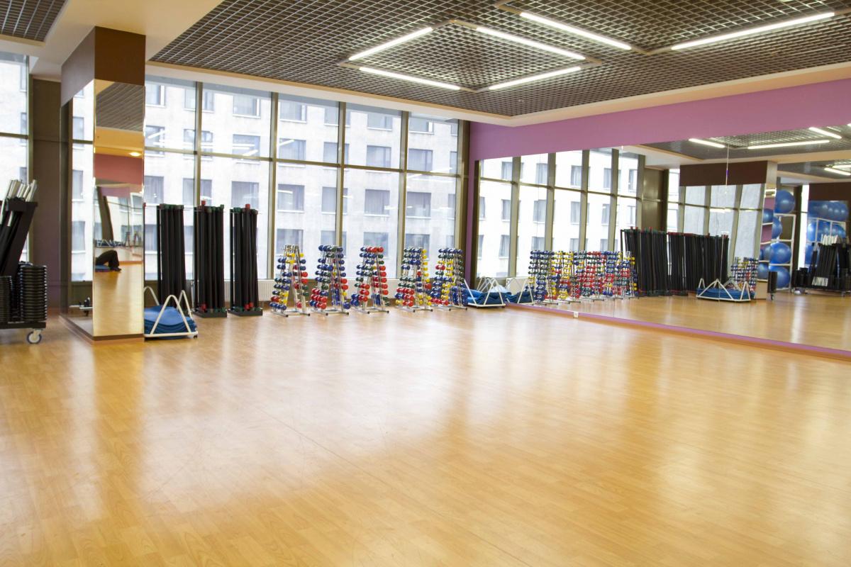 """Fitnessclubkette """"Sport Life"""" Stadt Sankt-Petersburg, Russland"""