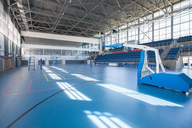 Sport- und Fitnesskomplexe mit universellen Hallen