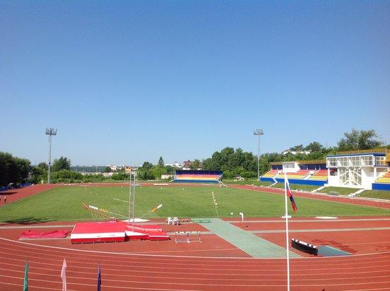 "Stadion ""Junost´"" Stadt Kaluga, Russland"