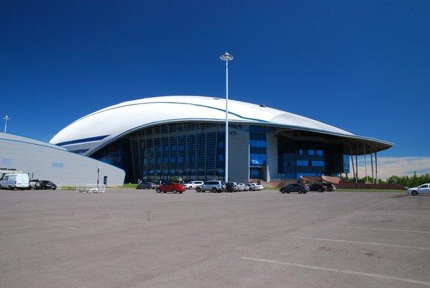 "Sportcomplex ""Saryarka"" Stadt Astana, Kasachstan"
