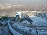 """Internationaler Komplex der Sprungschanzen """"Sunkar"""" Stadt Almaty, Kasachstan"""