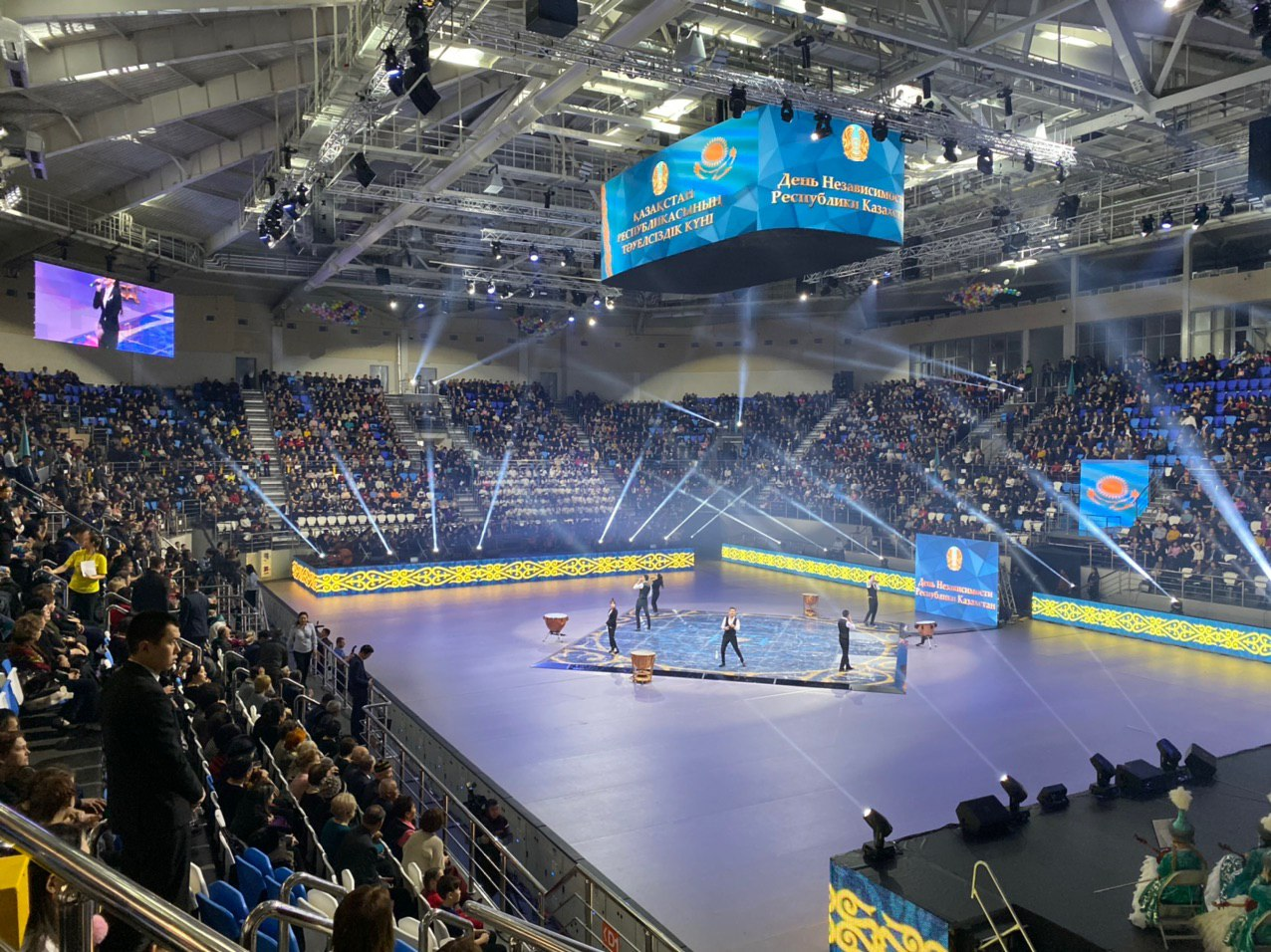 """Sportkomplex """"Аbaj-Arena"""" Stadt Semipalatinsk, Kasachstan"""
