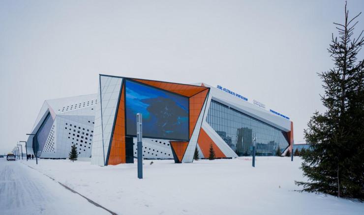 Die ersten Wettkämpfe in der Arena in Nur-Sultan