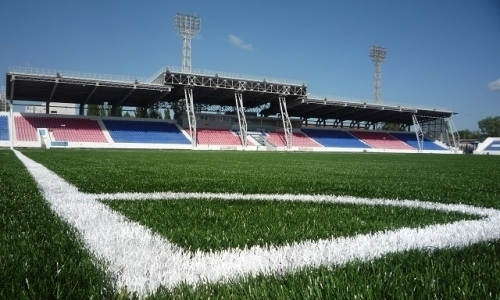 Zentrales Stadion Stadt Pavlodar, Kasachstan