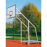 Basketball-Anlage Fahrbar 704