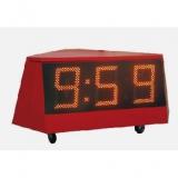 Konzentrationszeit Anzeigetafel BOREAS clock 250 3-seitig