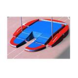Concept iv modular Landeplattform für Stabhochsprung. IAAF Zertifikat.