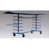 Ablageständer für Sprungstäbe (fahrbar) PV 30001