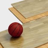 Tragbarer Sportboden Serie 1009 - FIBA-zertifiziert