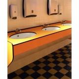 Ausrüstung für öffentliche Dusche und Toiletten