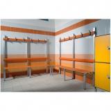 Bänke für Umkleideräume Serie PCQ